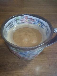 ピーナッツジンジャーコーヒー