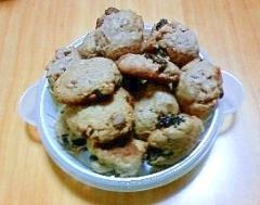 スパイスチョコバナナクッキー