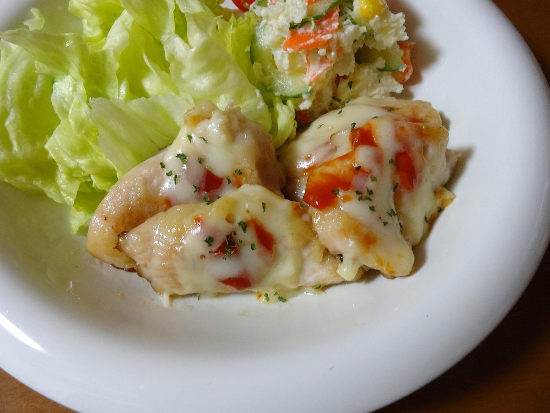 鶏むね肉のチーズ焼き レシピ・作り方 by みーちゃん6914|楽天レシピ