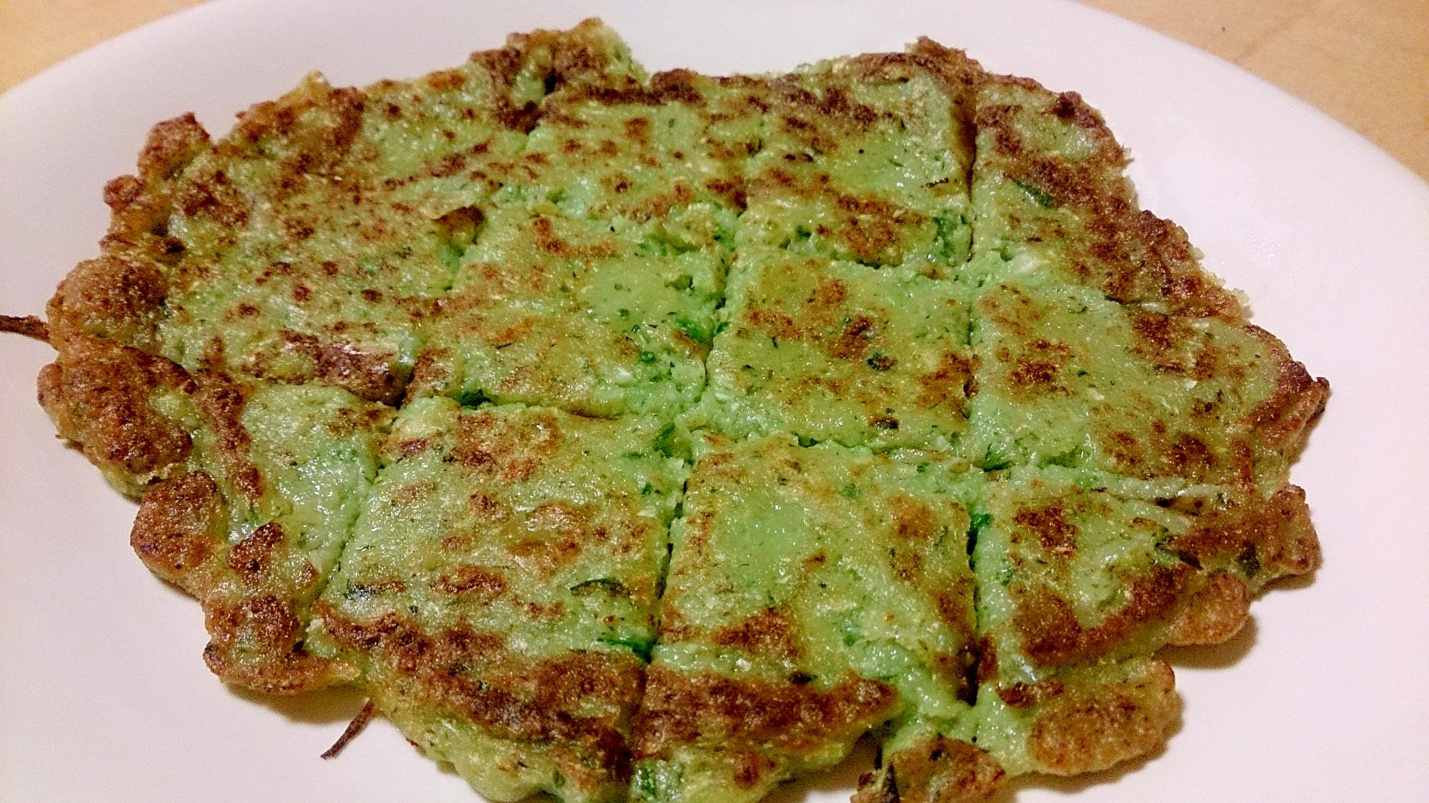 2. 余った餃子のタネで作るチヂミ