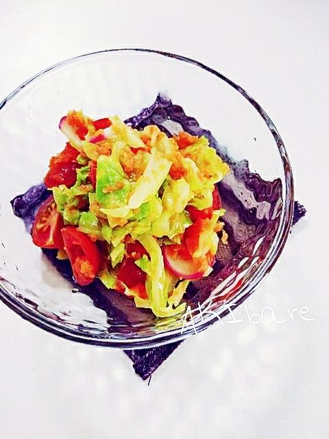 キャベツとトマトとすりおろし人参の春の副菜♪ レシピ・作り方 by AKIbare|楽天レシピ