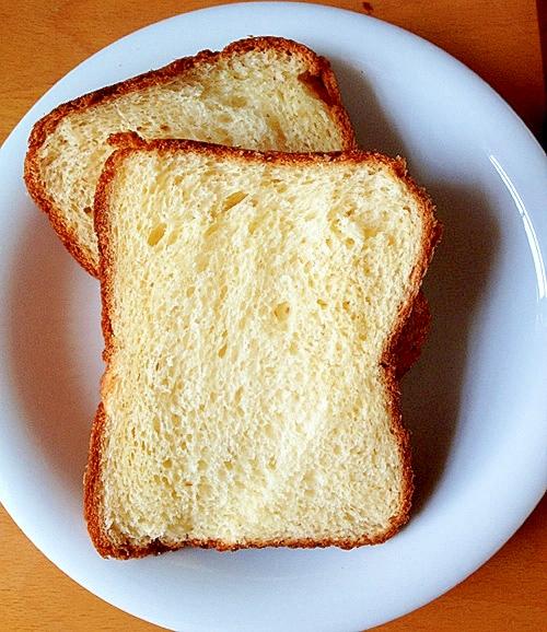 はちみつバター食パン(ホームベーカリー使用)
