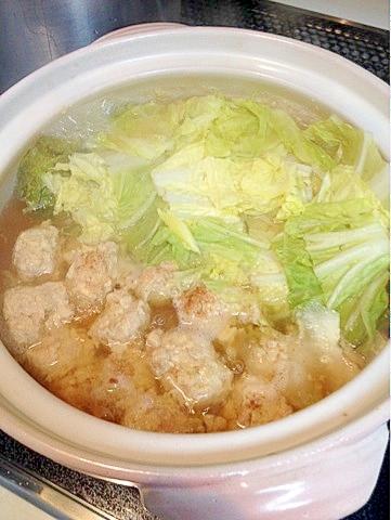 【糖質制限】節約☆材料2つで鶏団子の簡単お鍋♪ レシピ・作り方 by waffling|楽天レシピ