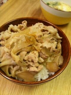 豚丼☆めんつゆで味付け簡単