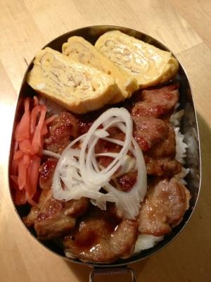 お弁当に!簡単豚丼