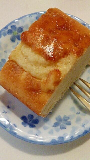 ヨーグルトのチャイがけケーキ