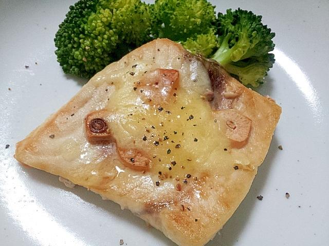 めかじきのチーズオーブン焼き(ガーリックバター)