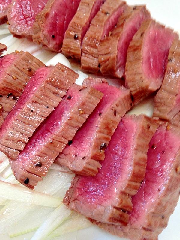 超簡単♪おもてなしにもなる牛肉のタタキ