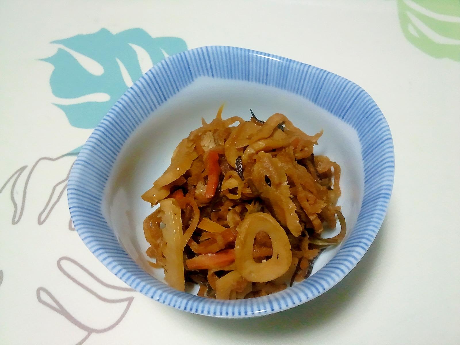 色んな食感が楽しめる♪切干大根の煮物++