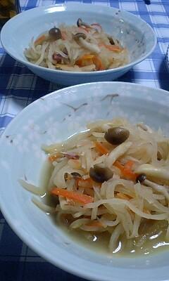 困った時の洋風副菜。切干大根のコンソメ煮