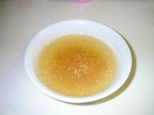 ツナの中華スープ