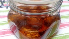 栗で秋の味覚フルーツブランデー