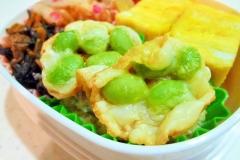 カリカリチーズ枝豆