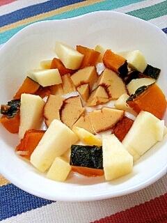 旧正月気分で☆かぼちゃとりんごの伊達巻ヨーグルト♪
