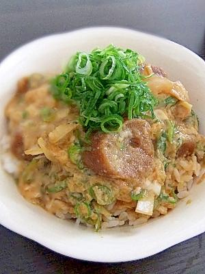 節約!肉なし!★なんちゃって関西風すき焼き玉子丼