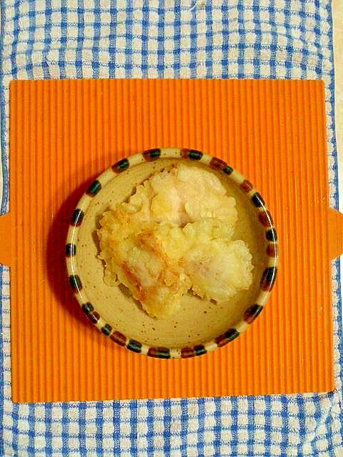 鶏ムネ肉の天ぷら♪
