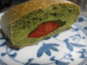 ホームベーカリー☆新ニンジンのグラッセ+小松菜パン