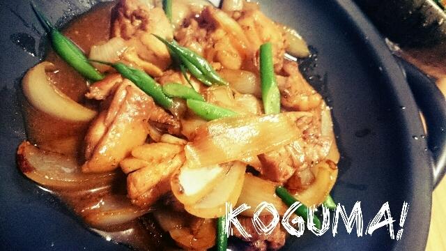 ご飯がすすむ~♪野菜もおいしい!鶏の甘辛味噌炒め
