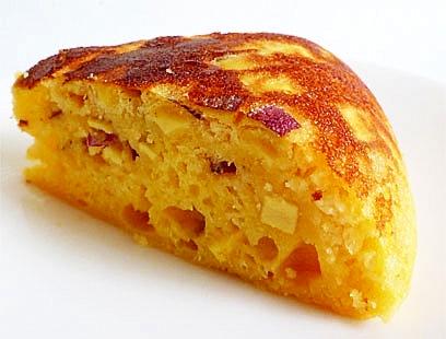 炊飯器でホットケーキミックスと豆乳とさつまいも レシピ・作り方 by liqueur|楽天レシピ