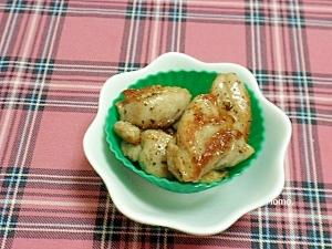 鶏もも肉の黒コショウソテー