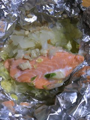 鮭 の ホイル 焼き フライパン 水