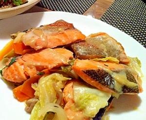 野菜たっぷり!!鮭のちゃんちゃん焼き レシピ・作り方 by ひろかぱんだ|楽天レシピ