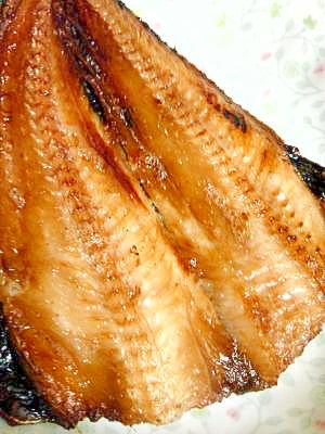 冷凍魚の焼き方