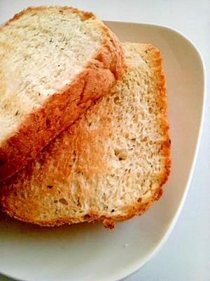 水菜食パン(ホームベーカリー使用)