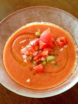 トマトと夏野菜のガスパチョ