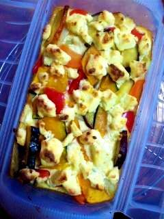 甘い野菜のキッシュ★ルクエ×オーブン