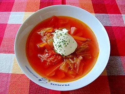 ロシア人の先生に教わった ボルシチ レシピ・作り方 by はらのむし|楽天レシピ