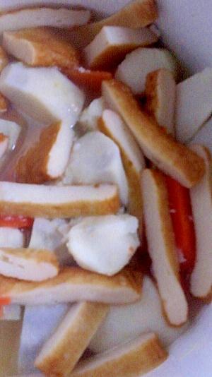 里芋・さつま揚げ・人参の煮物