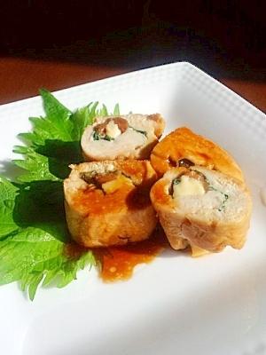 ボクサーも減量で食べる☆鶏ささみで梅しそチーズ巻き レシピ・作り方 by xguricox|楽天レシピ