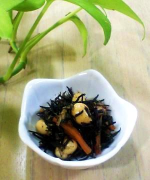 ツナひじき…我が家のネーミング。もちろん常備菜