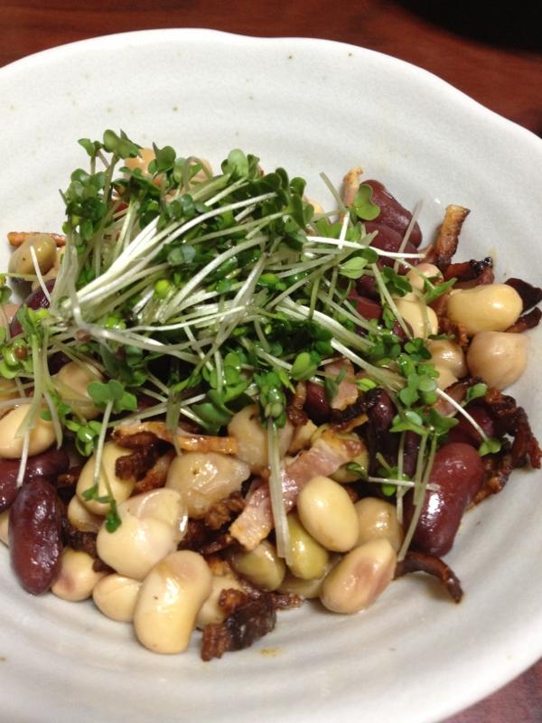 豆のサラダ