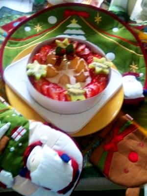 フロマージュケーキでメリークリスマス