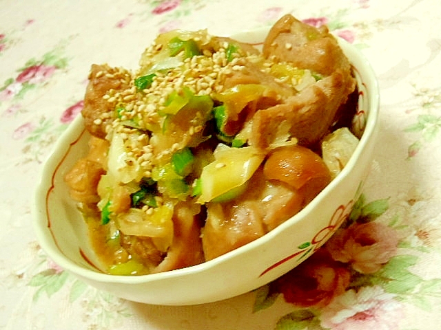 濃厚ウナギのタレと紹興酒で作る鶏照り焼き