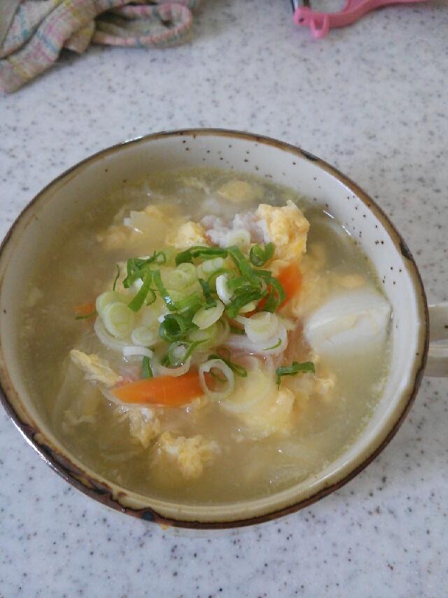 簡単!たまごスープ