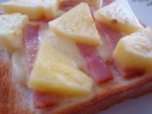 パイナップル&ベーコン♪ハワイアントースト
