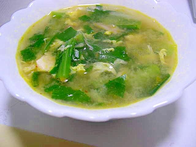 挽肉入り中華スープ(作り置き肉みそ使用)