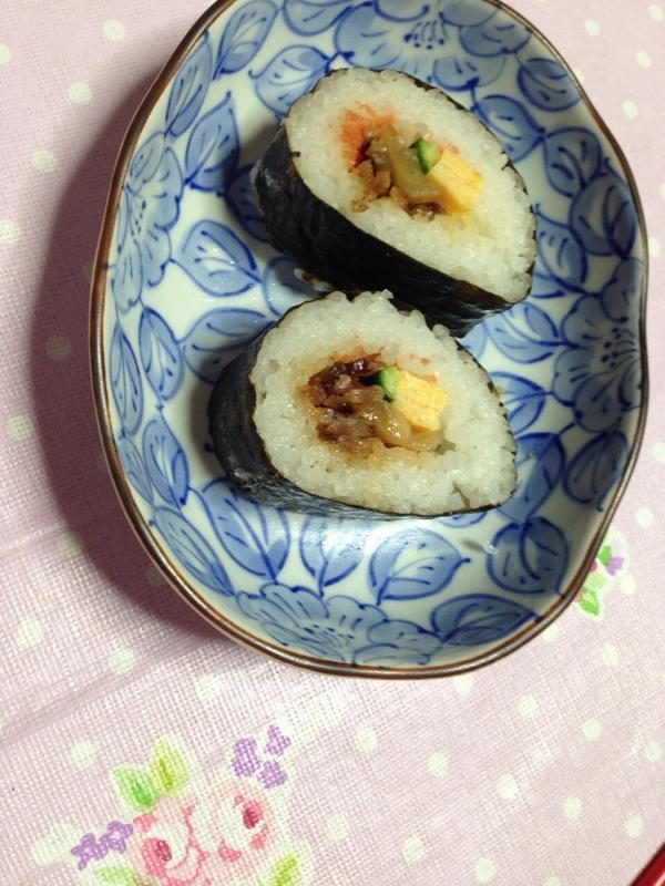《鯛でんぷ巻き寿司》