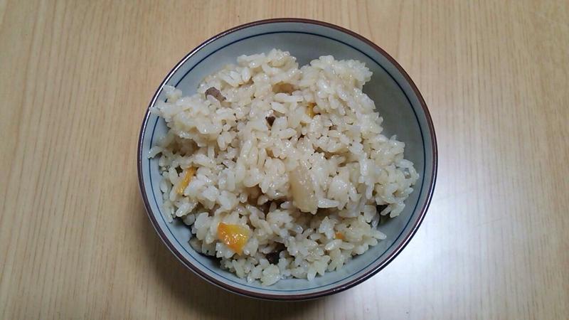 筑前煮☆変身リメイク☆炊き込みご飯