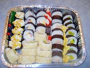 外国人に喜ばれる巻き寿司