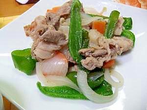 ウェイパーDE野菜肉炒め