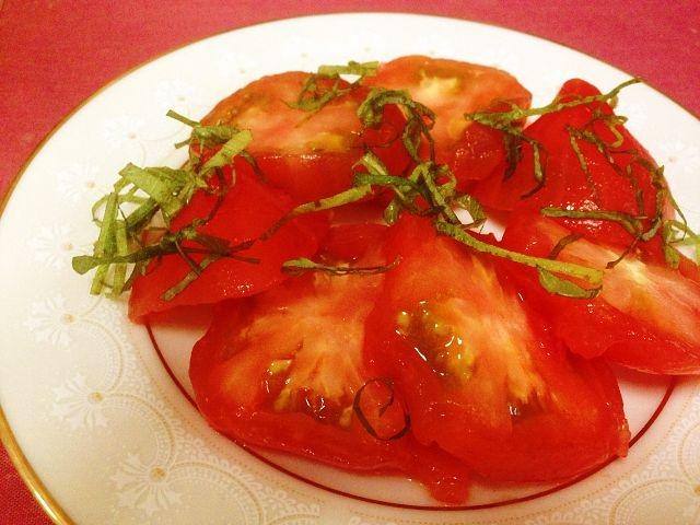 和風ぅ~なトマトのおひたし