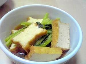 小松菜のさっと煮