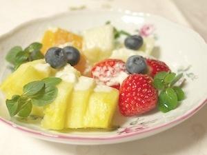 フルーツ豆乳ヨーグルト