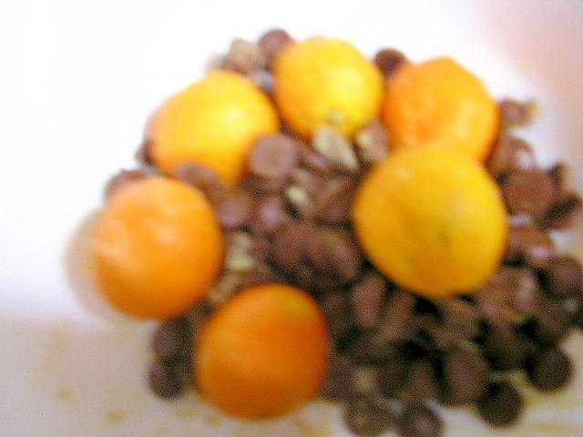 金柑と生姜のキャロブスイーツ