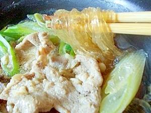 韓国春雨で、春雨スープ(全工程写真あり)