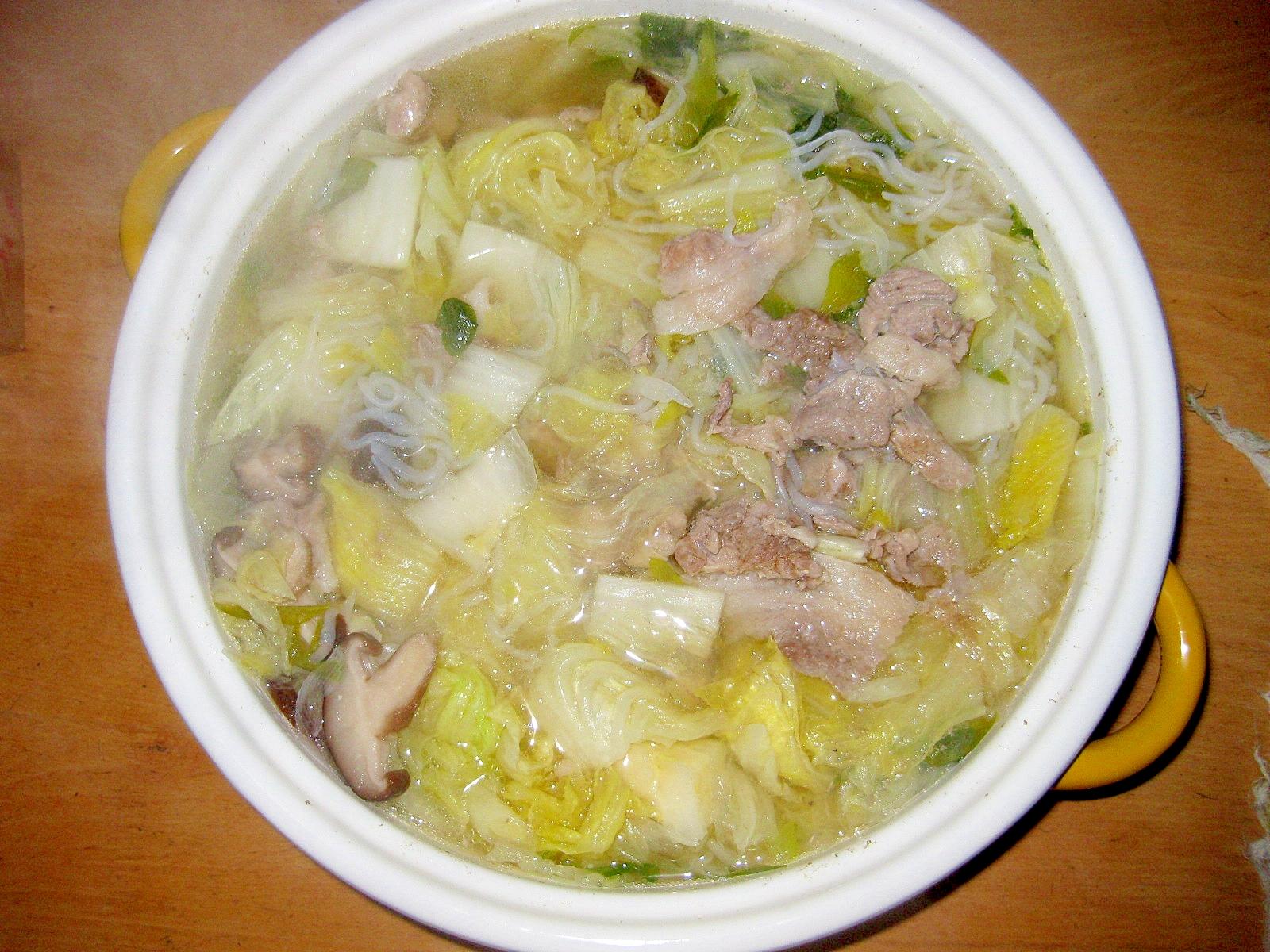 簡単♪塩糀鍋
